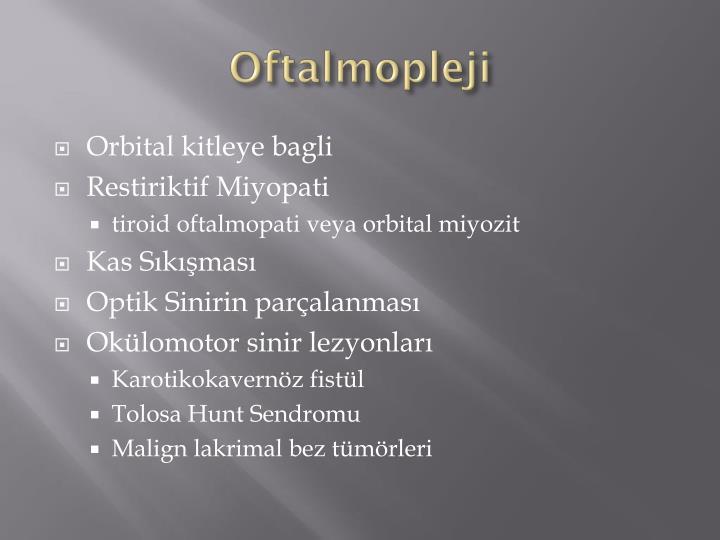 Oftalmopleji