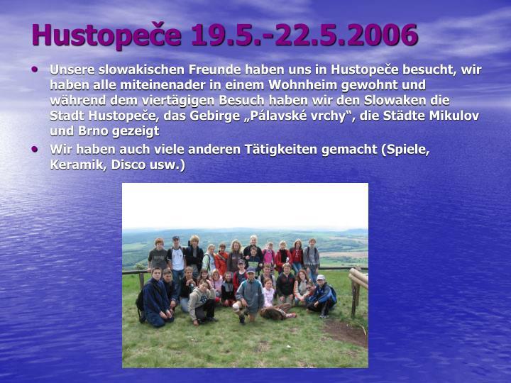 Hustopeče 19.5.-22.5.2006