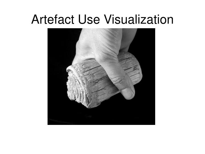 Artefact Use Visualization