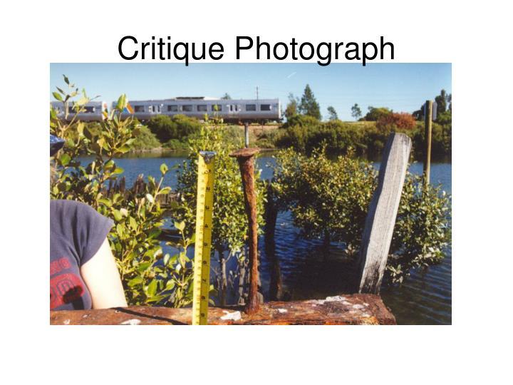Critique Photograph