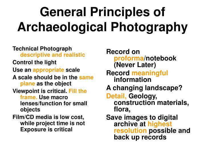 Technical Photograph
