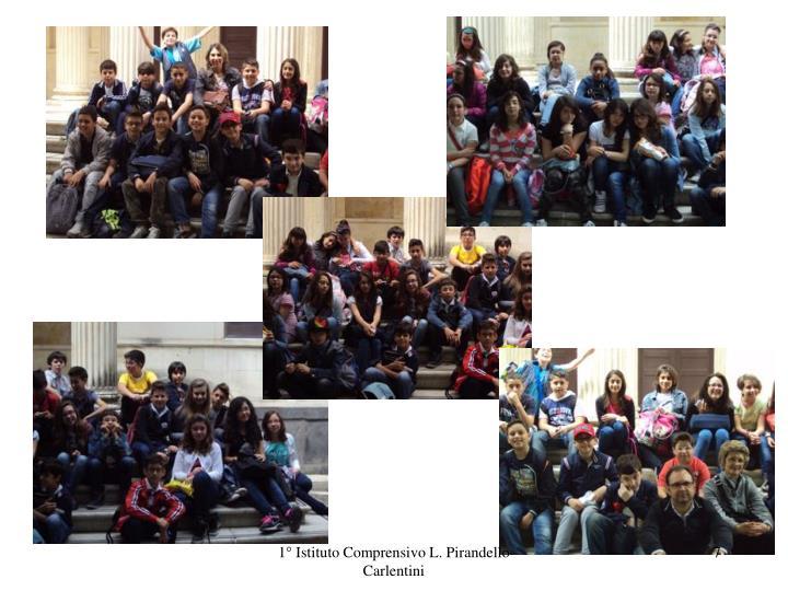 1° Istituto Comprensivo L. Pirandello Carlentini