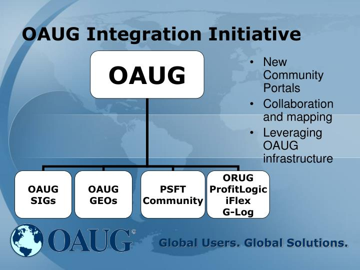 OAUG Integration Initiative