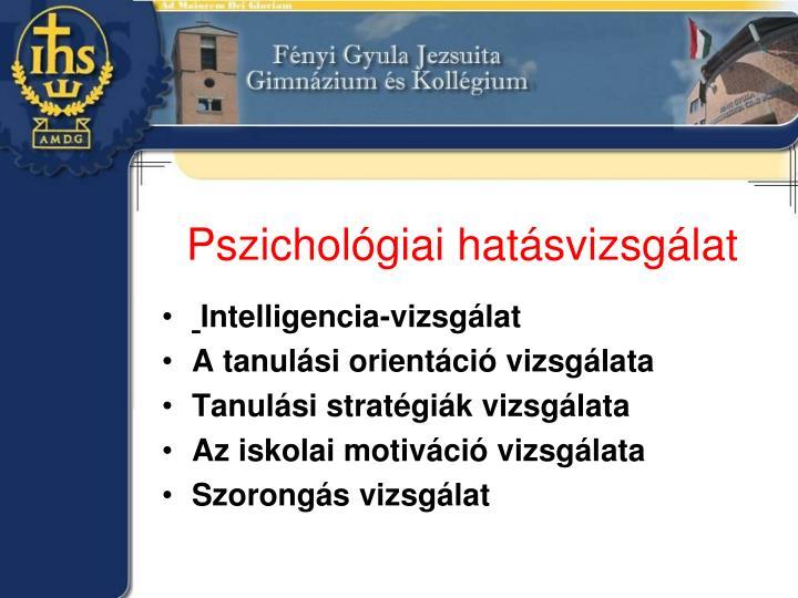 Pszichológiai hatásvizsgálat