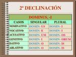 2 declinaci n