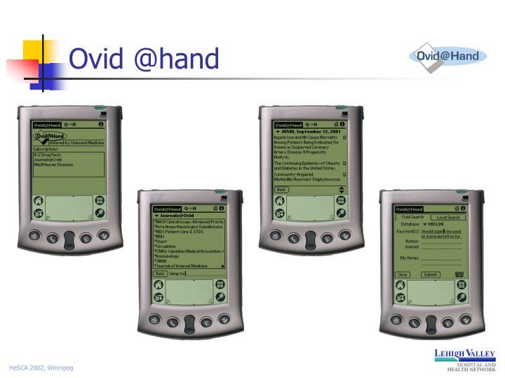 Ovid @hand