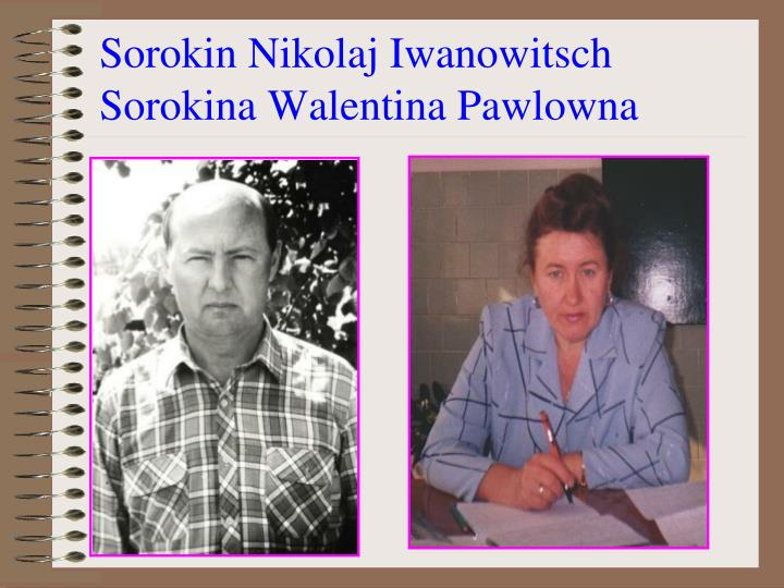 Sorokin Nikolaj Iwanowitsch