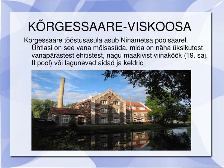 KÕRGESSAARE-VISKOOSA