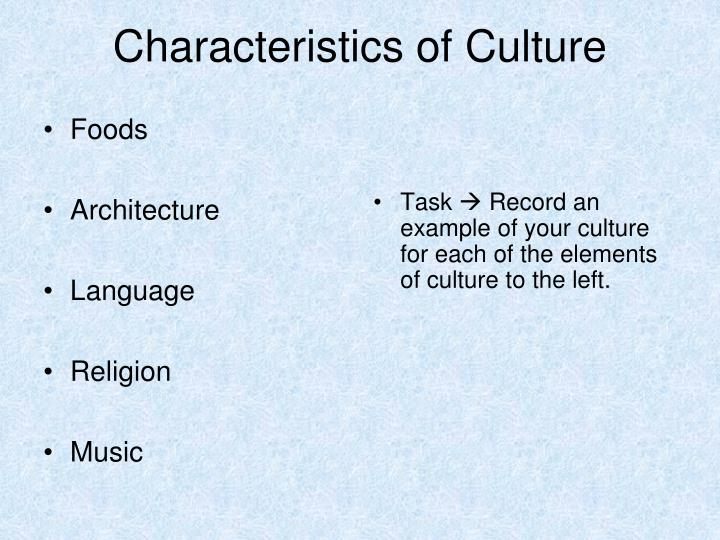 an analysis of the characteristics of civilization Chapter 5: was ancient sumer a civilization characteristics of a civilization: analysis questions.