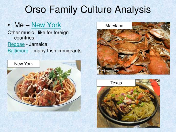 an analysis of family culture Things fall apart: an analysis of pre and post-colonial igbo their rich culture and other social family structure to trade.