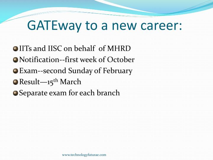 GATEway to a new career: