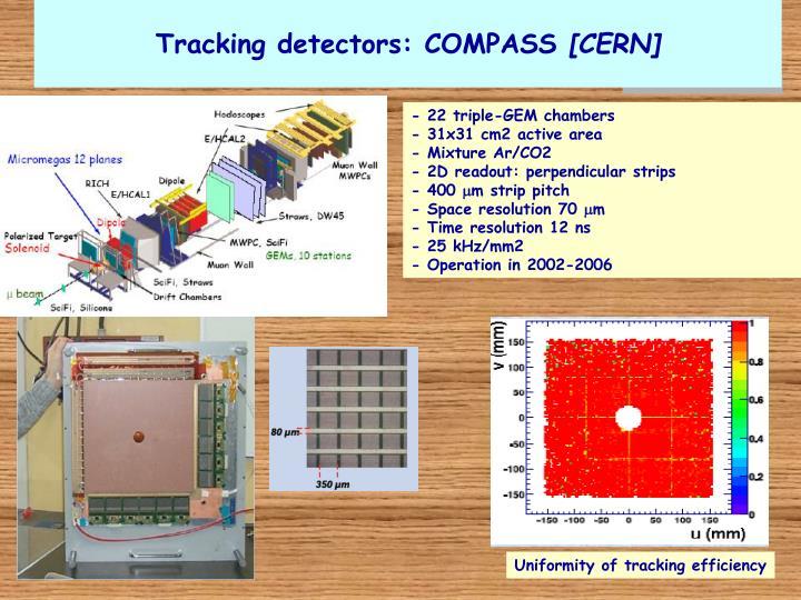 Tracking detectors: COMPASS