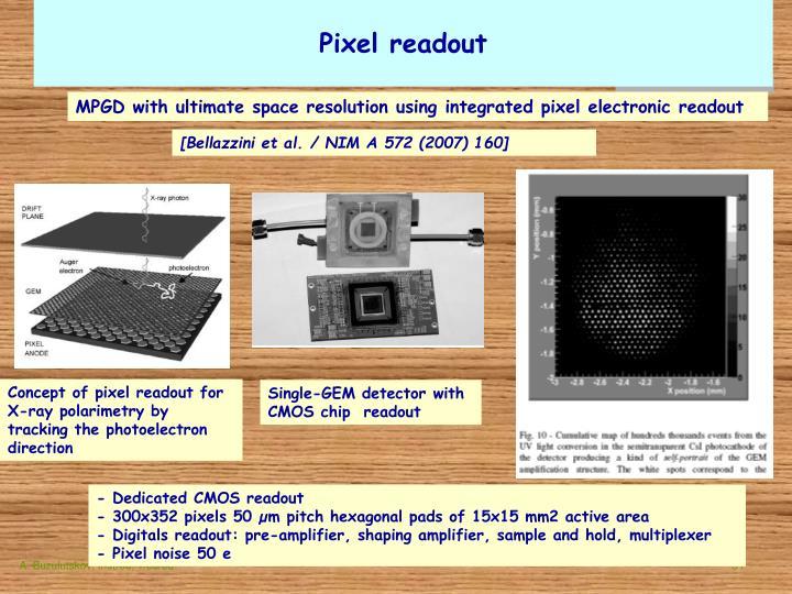 Pixel readout