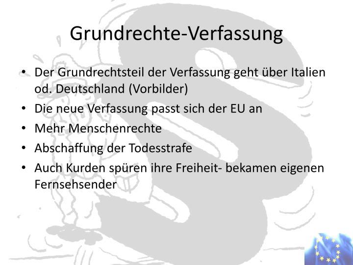 Grundrechte-Verfassung