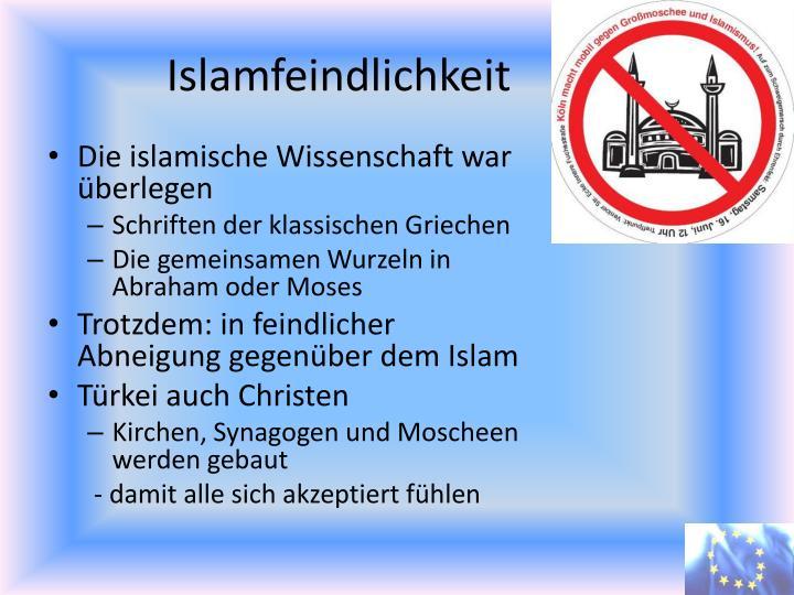 Islamfeindlichkeit