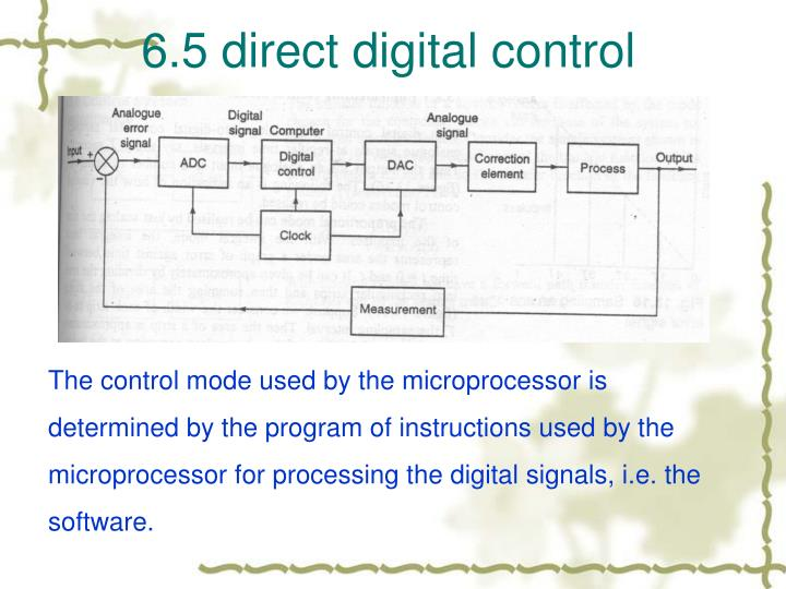 6.5 direct digital control
