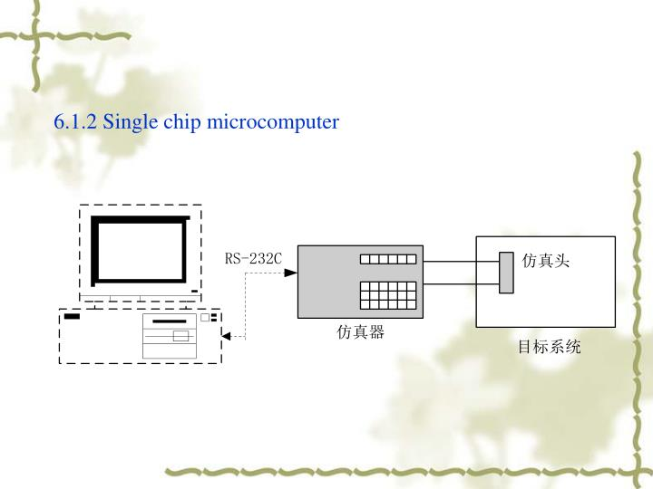 6.1.2 Single chip microcomputer