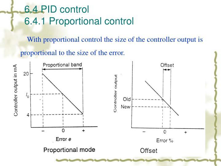 6.4 PID control