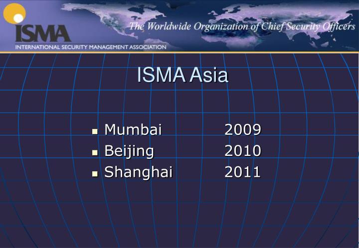 ISMA Asia