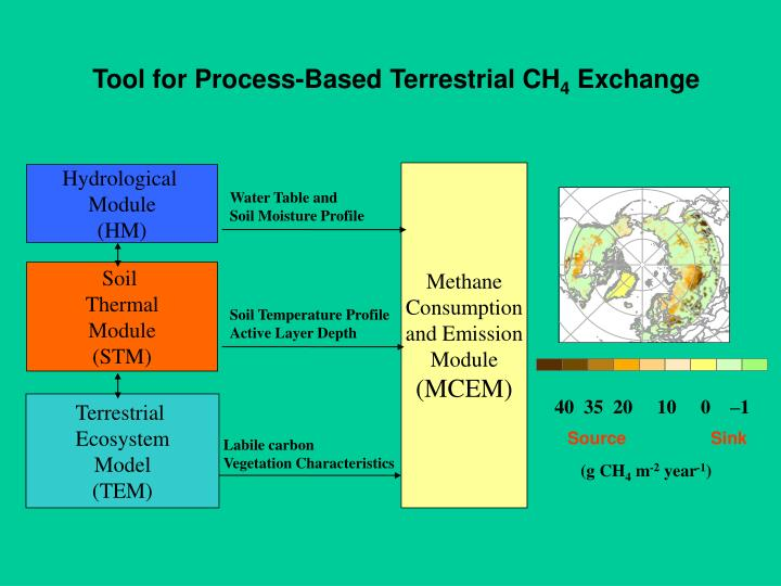 Tool for Process-Based Terrestrial CH