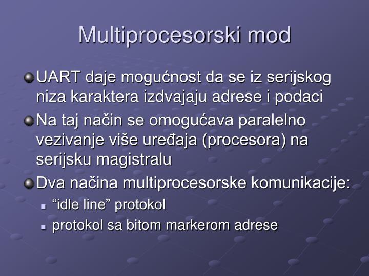 Multiprocesorski mod