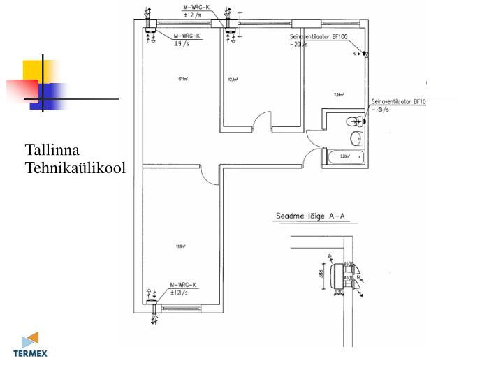 Detsentaalne ventilatsioonilahendus