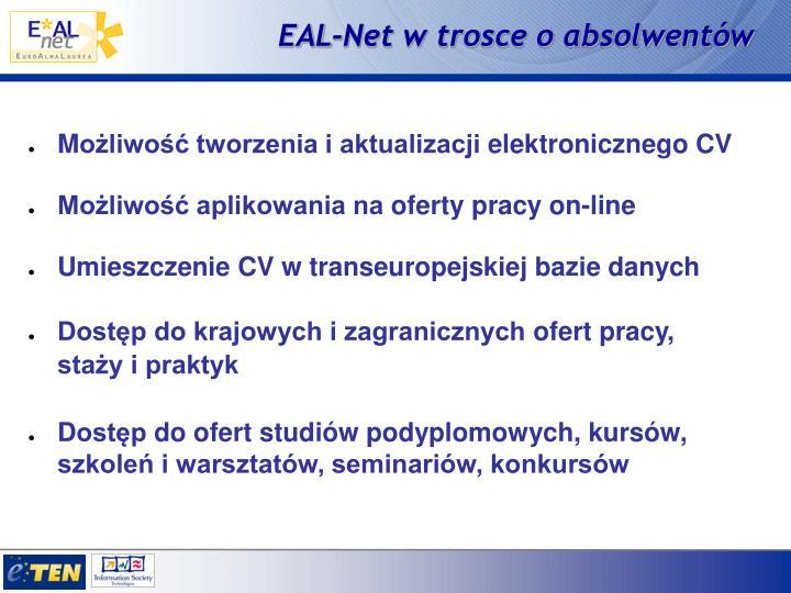 EAL-Net w trosce o absolwentów