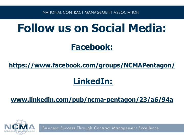 Follow us on Social Media: