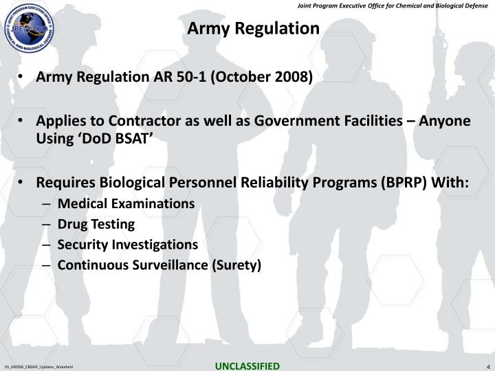 Army Regulation
