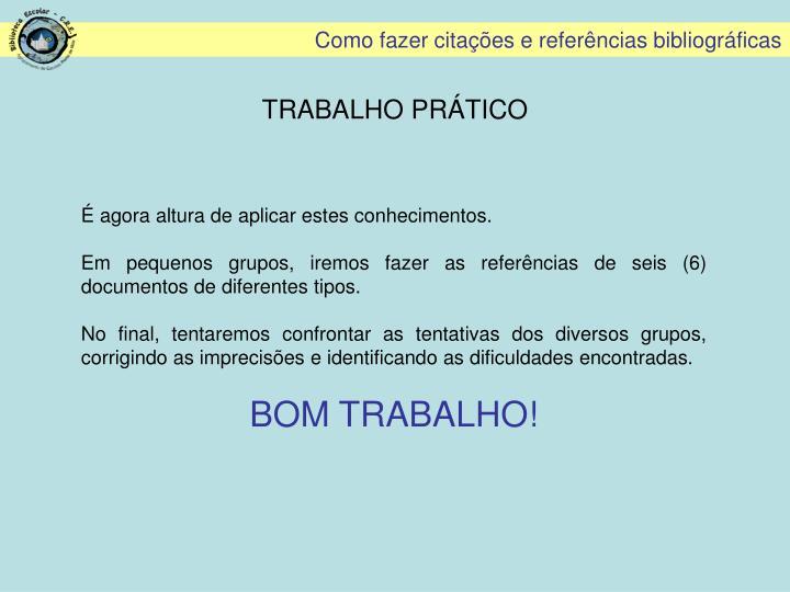 TRABALHO PRÁTICO