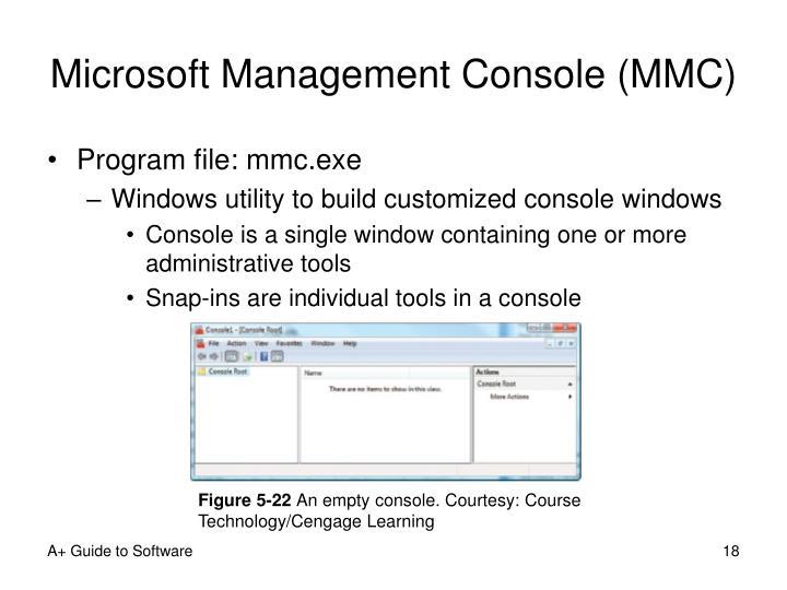 Microsoft Management Console (MMC)