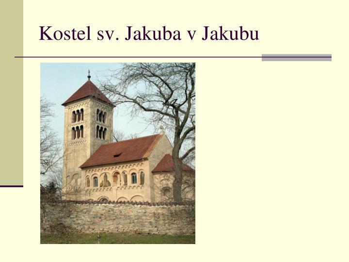 Kostel sv. Jakuba v Jakubu
