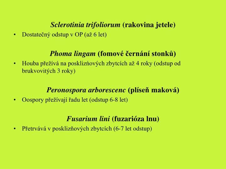 Sclerotinia trifoliorum