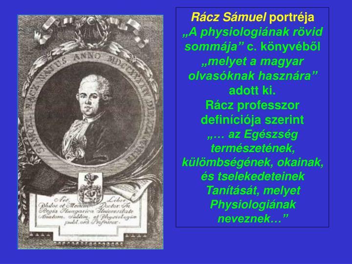 Rácz Sámuel