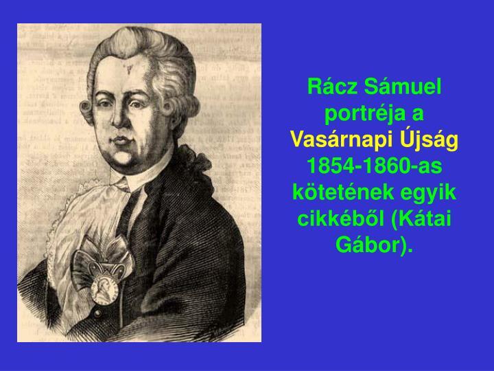 Rácz Sámuel portréja a
