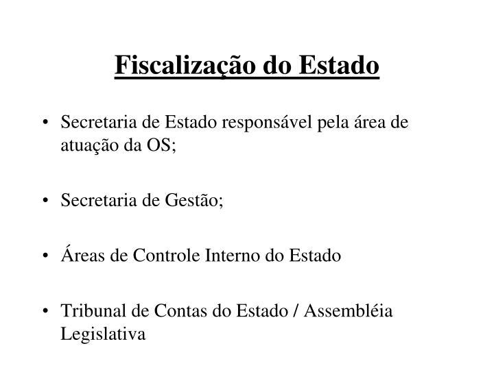 Fiscalização do Estado