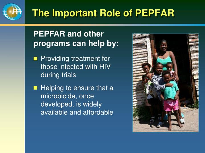 The Important Role of PEPFAR