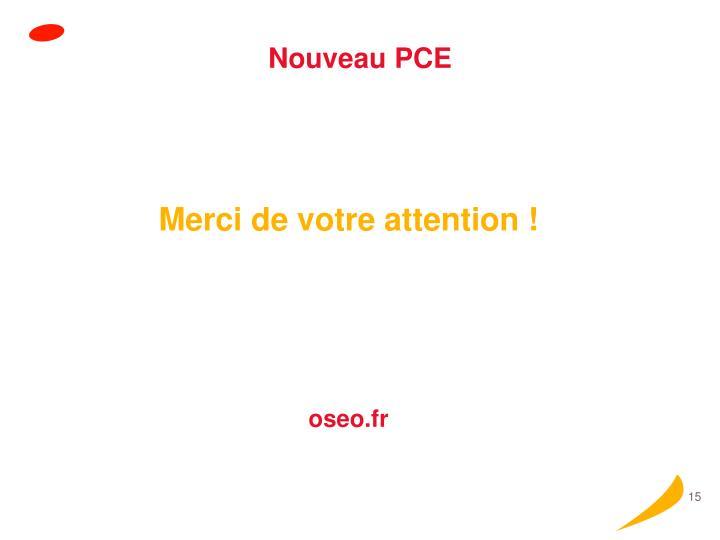 Nouveau PCE