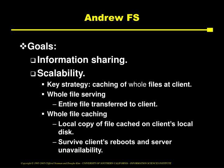 Andrew FS