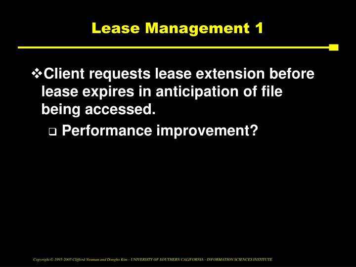 Lease Management 1