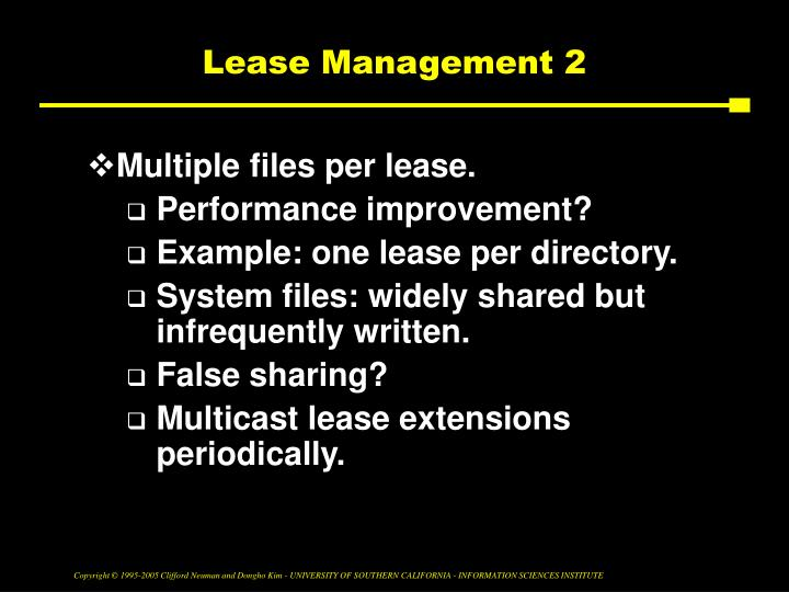 Lease Management 2