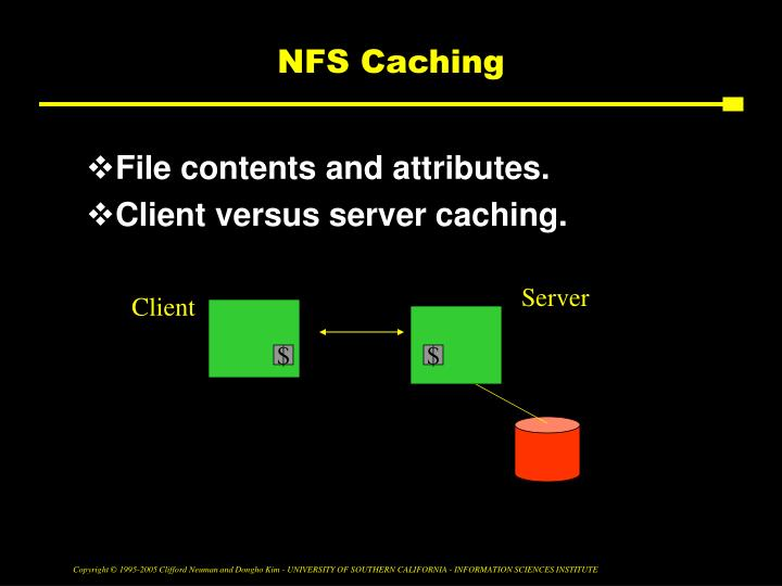 NFS Caching