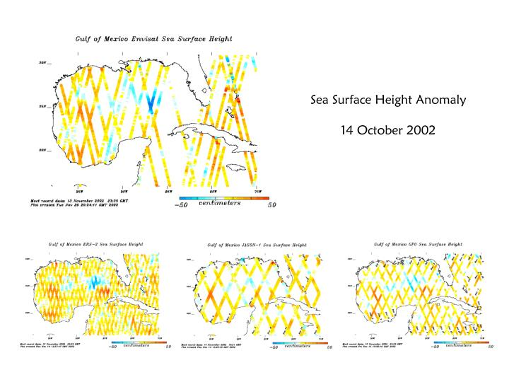 Sea Surface Height Anomaly