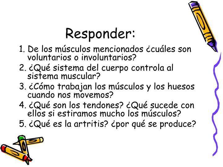 Responder: