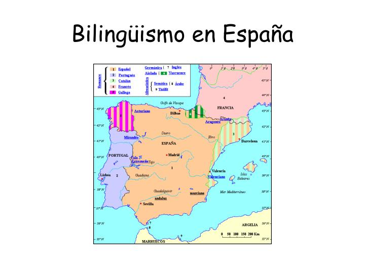 Bilingüismo en España