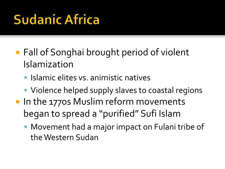 Sudanic Africa