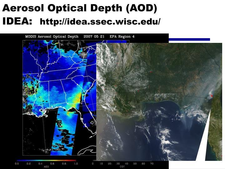 Aerosol Optical Depth (AOD)