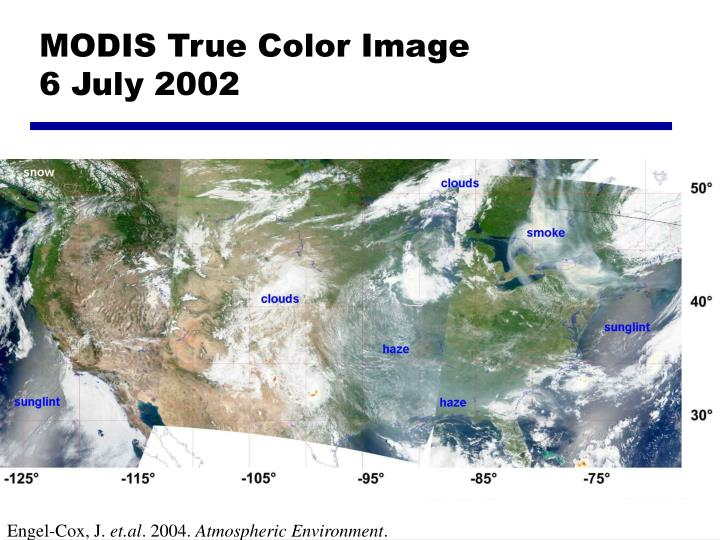 MODIS True Color Image