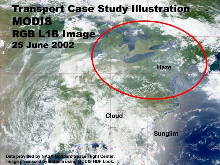 Transport Case Study Illustration