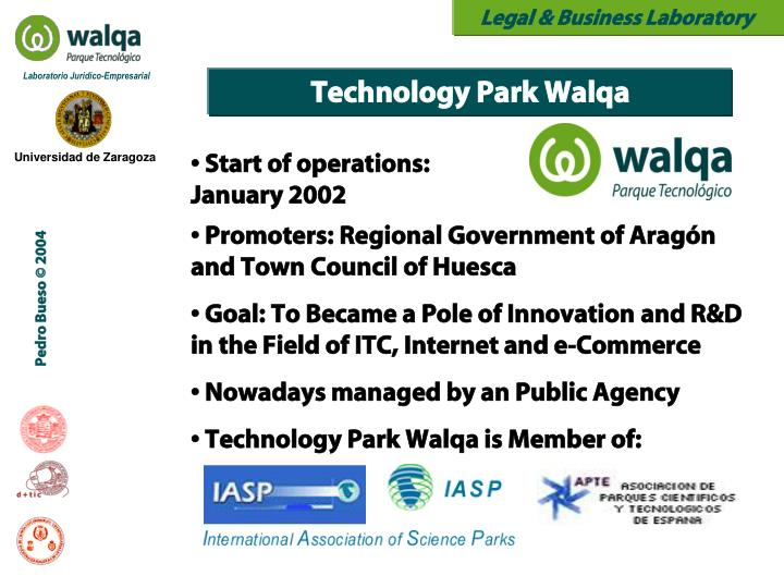Technology Park Walqa